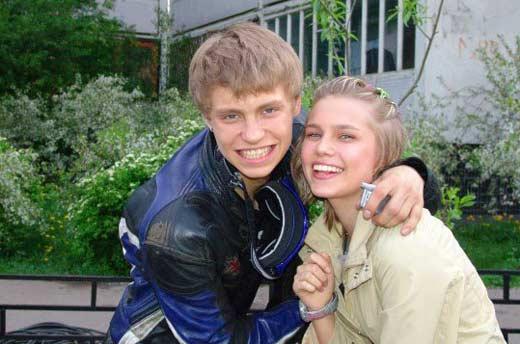 Александр Головин и Дарья Мельникова