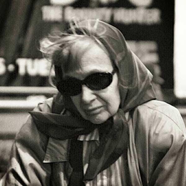 Грета Гарбо в старости
