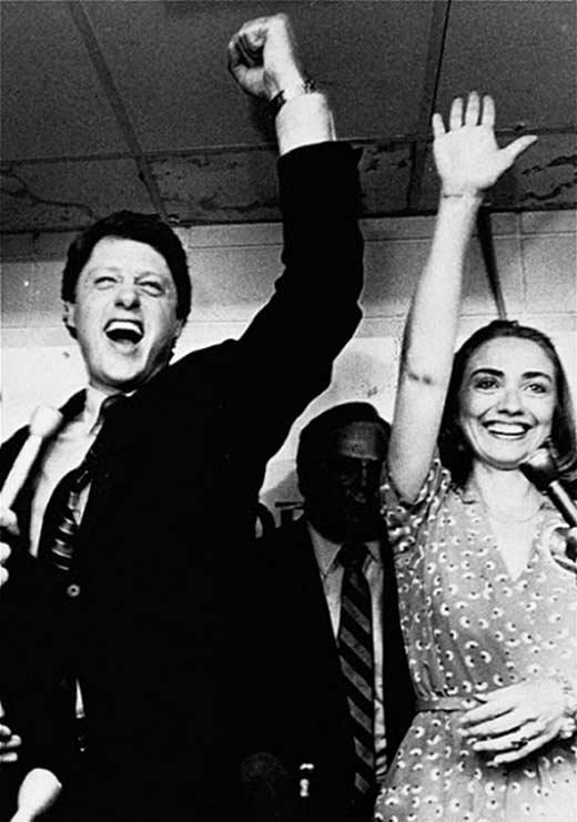 Хиллари и Билл Клинтон 2