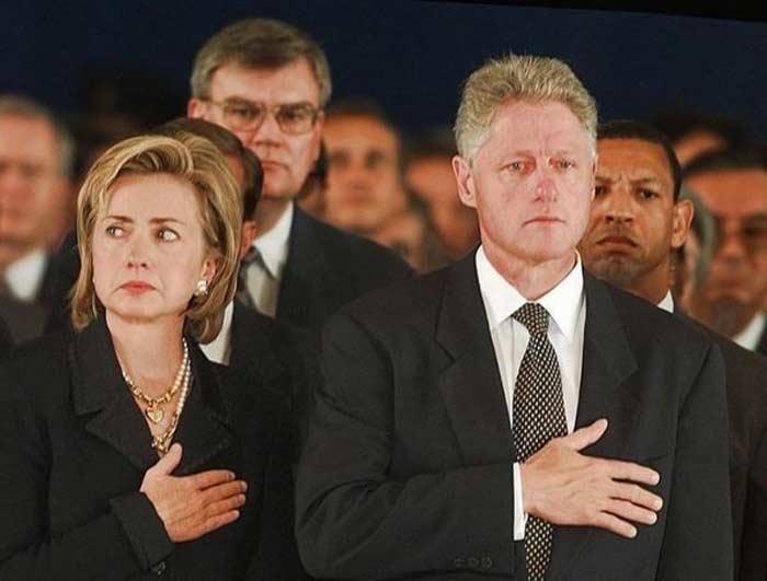 Хиллари и Билл Клинтон 4