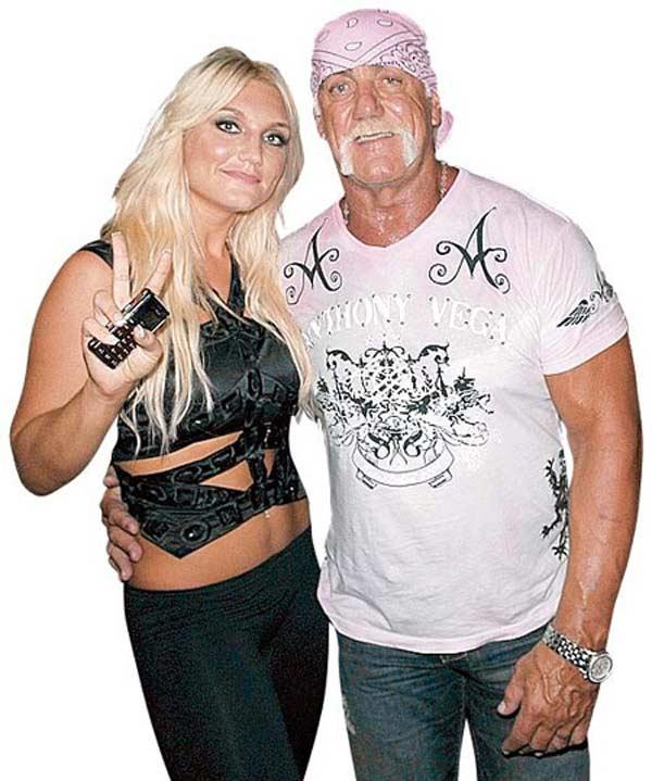 Халк Хоган с дочерью Брук