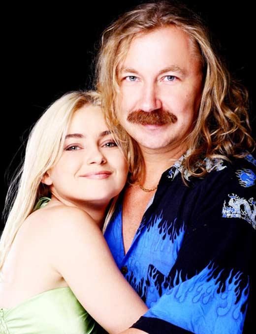 Игорь Николаев и дочь Юлия