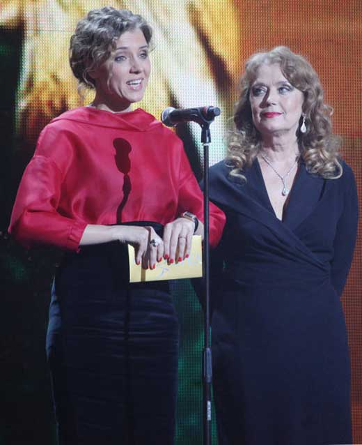 Алферова и дочь Ксения 2