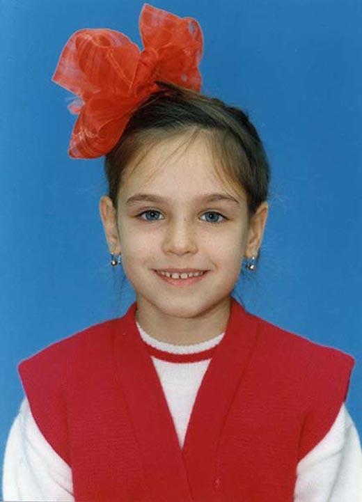Ирина Антоненко в детстве