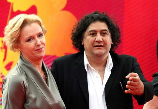Ирина Розанова и Бахтияр Худойназаров