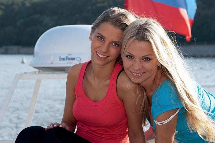 Ирина Салтыкова с дочерью Алисой 2