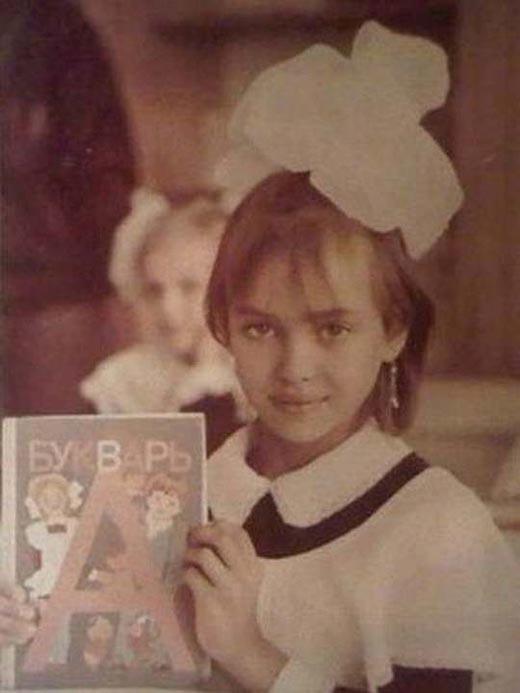Ирина Шейк в детстве 2