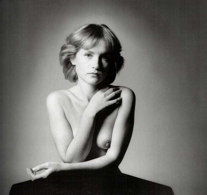 Изабель Юппер в молодости