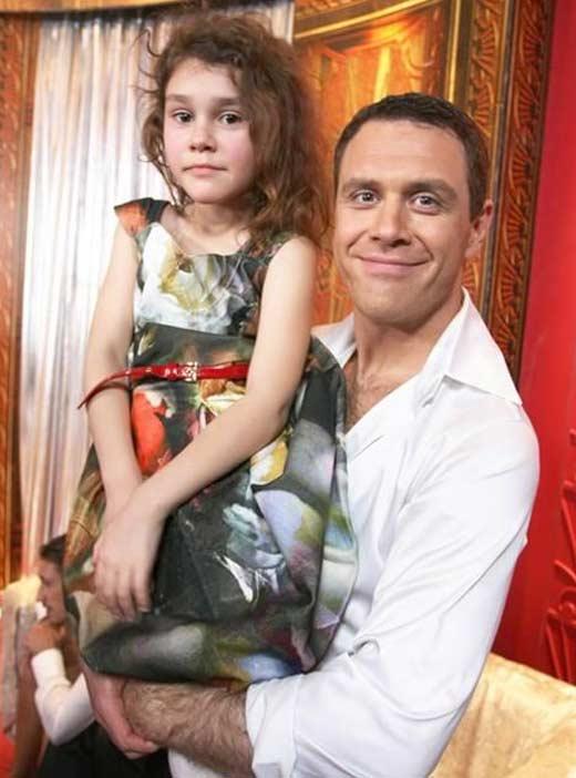 Иван Оганесян с дочерью Олесей