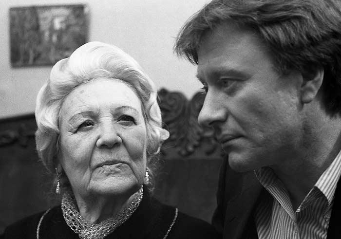 Изабелла Юрьева и Андрей Миронов