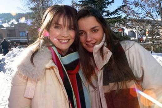 Джулия Ормонд с дочерью Софи