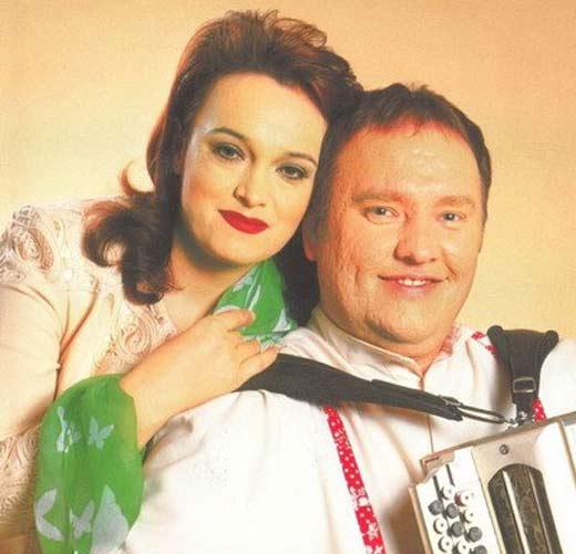 Надежда Кадышева и Александр Костюк