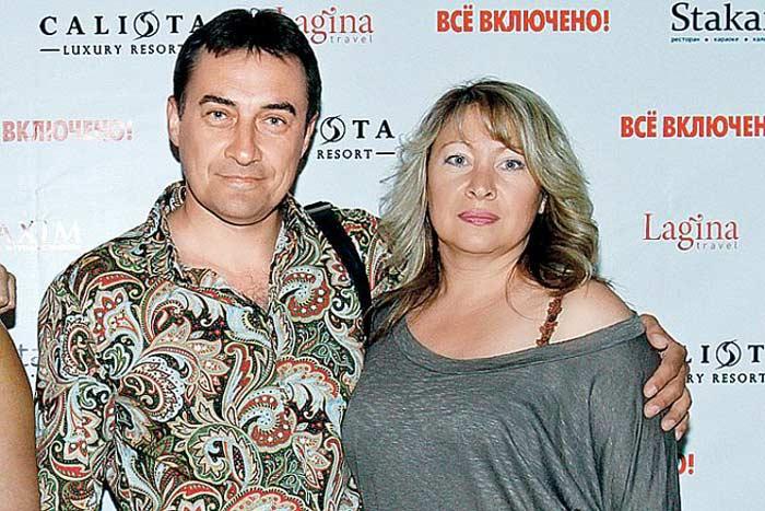 Камиль Ларин с первой женой Галиной