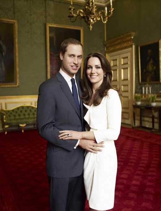 Кейт Миддлтон и принц Уильям 1