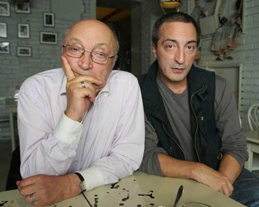 Кирилл Козаков с отцом