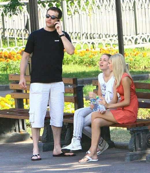 Кирилл Сафонов и дочь 1