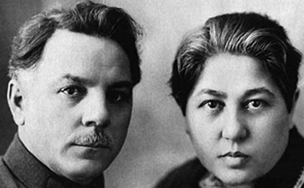Климент Ворошилов с женой