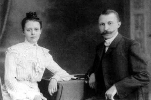 Конрад Аденауэр и Эмма Вейер