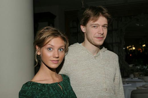Никита Ефремов и Кристина Асмус