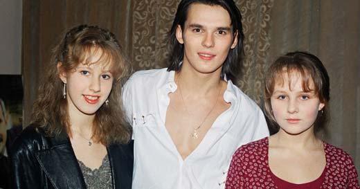 Ксения Собчак в юности 1