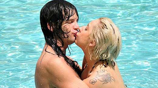 Леди Гага и Люк Карл 1