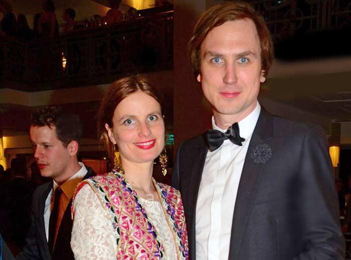 Ларс Айдингер и жена Ульрика