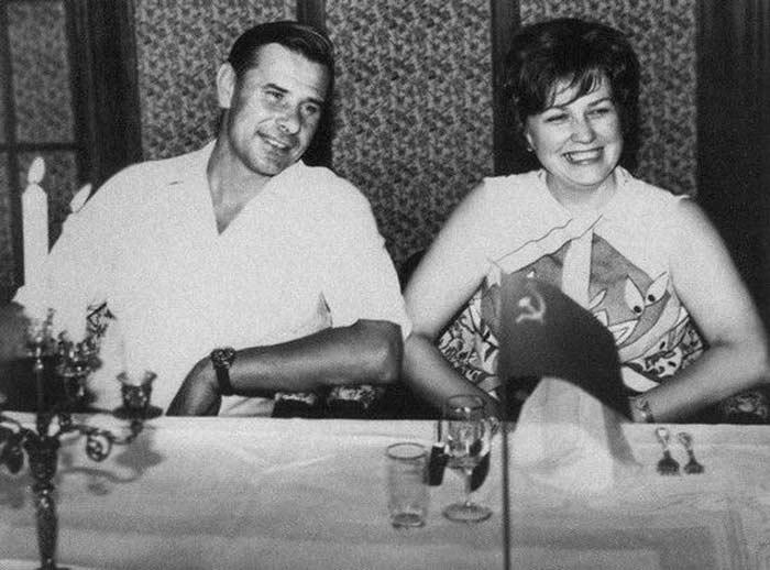 Лев Яшин с женой Валентиной 2