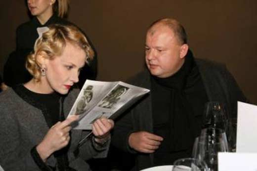 Рената Литвинова и Леонид Добровский