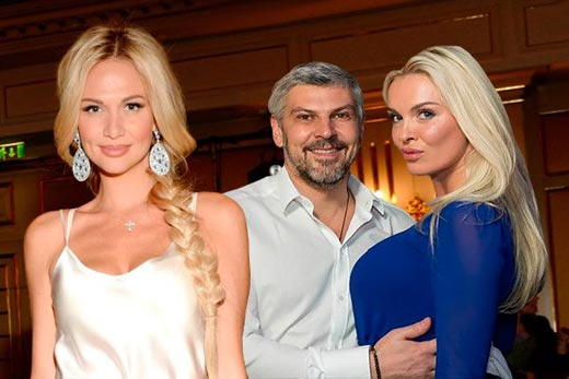 Виктория Лопырева и Николай Саркисов