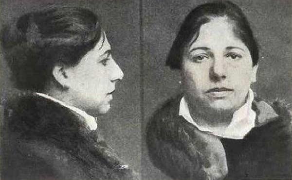 Мата Хари после ареста