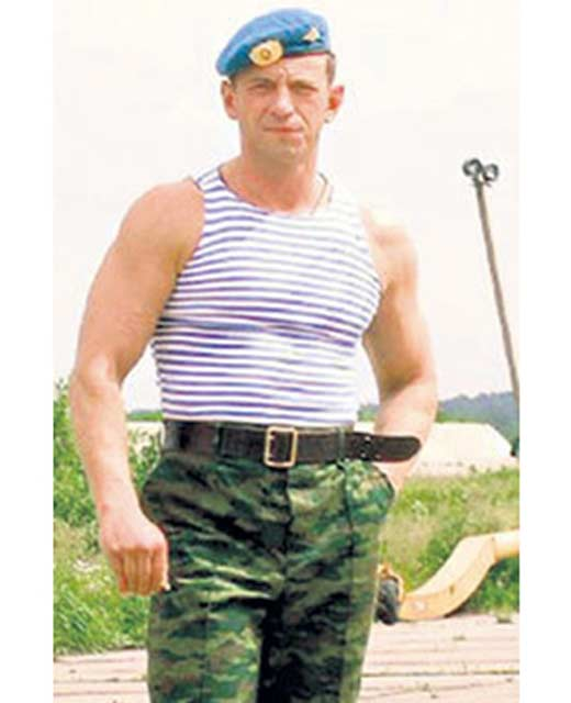 Максим Дрозд в армии