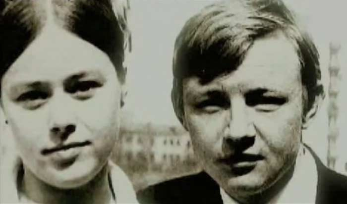 Михаил Кононов с женой Натальей