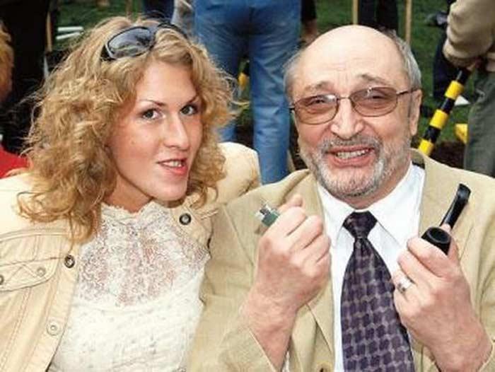 Михаил Козаков и Надежда Седова