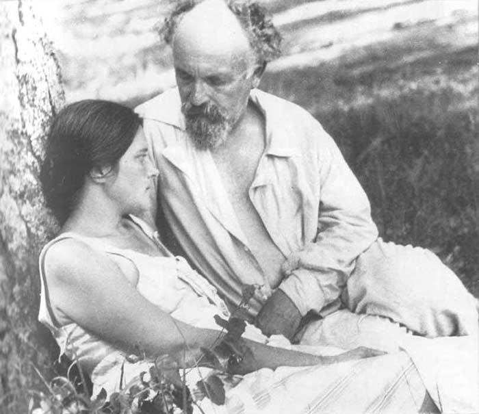 Михаил Пришвин и Валерия Лиорко