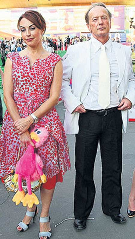 Михаил Задорнов и Елена Бомбина
