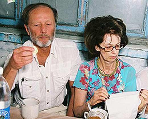 Михаил Задорнов и Велта Калнберзина
