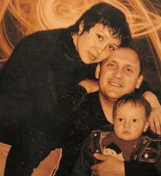 Стас Михайлов с первой женой Инной Горб