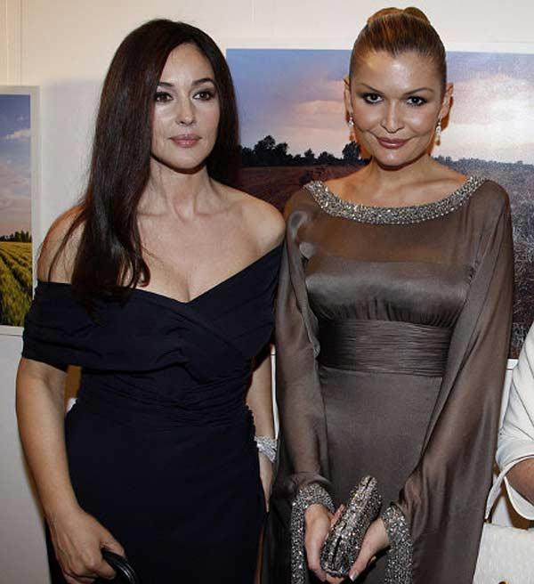 Лола Каримова с Моникой Белуччи