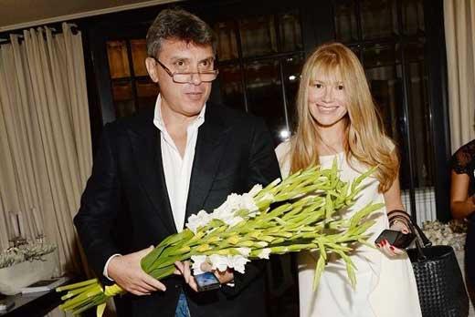 Борис Немцов и Ирина Королёва