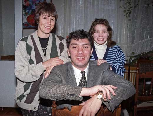 Немцов с женой Раисой 2