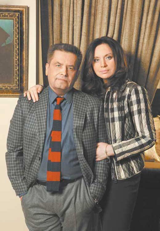 Николай Расторгуев с женой Натальей