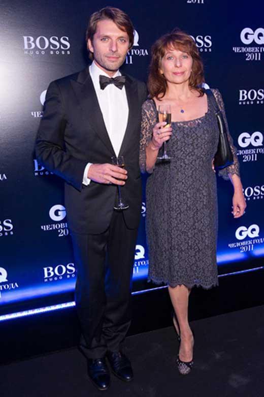 Николай Усков с женой 1