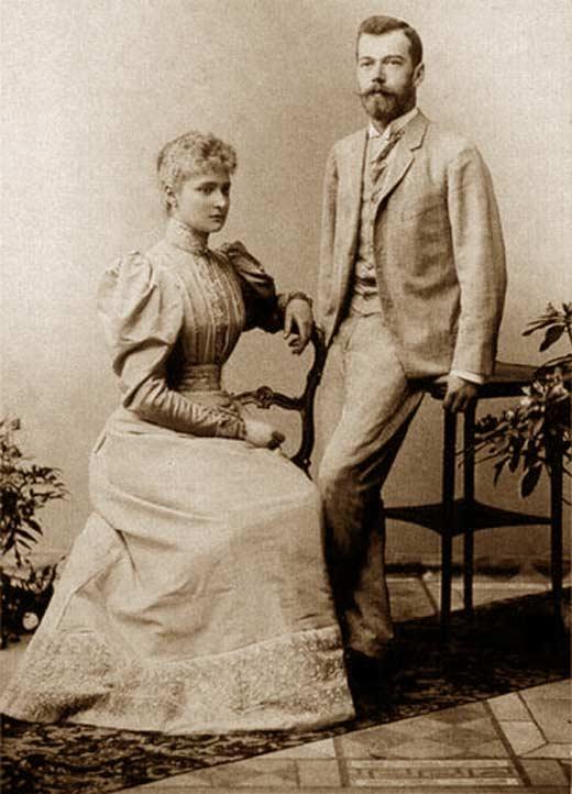 Николай II и Александра Фёдоровна 2