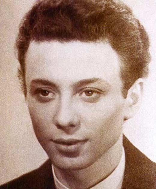 Олег Даль в юности
