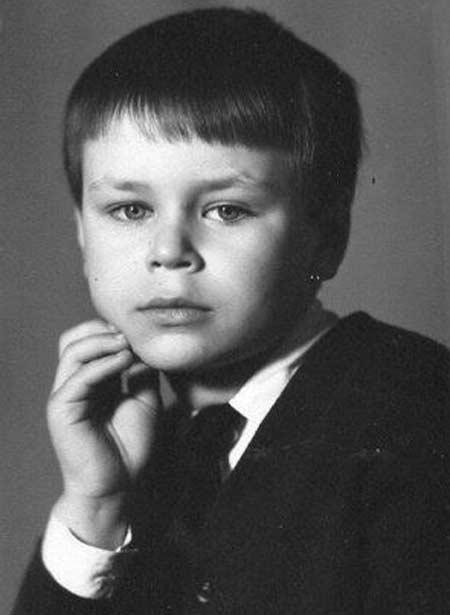 Олег Тактаров в детстве