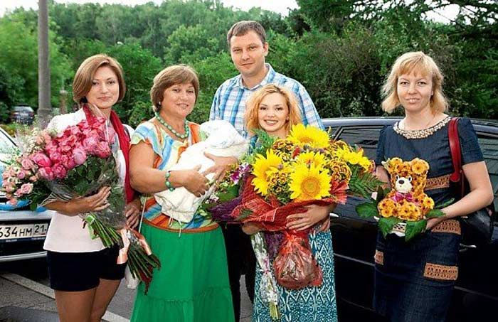 Ольга Кузьмина с мужем Алексеем 2