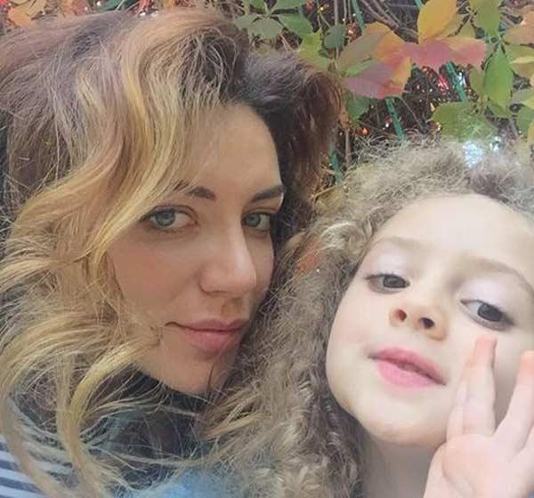 Ольга Житник с дочерью Амалией