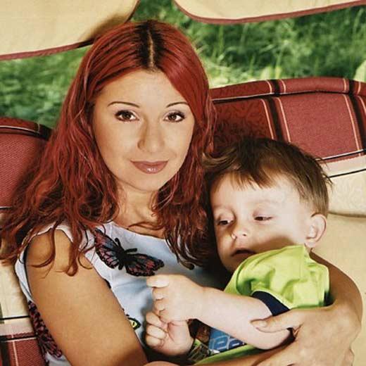 Ольга Орлова и сын Артём 1
