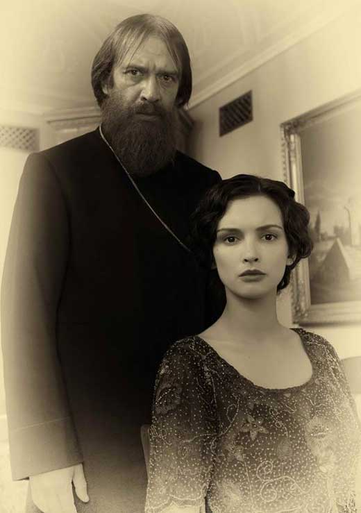 Паулина Андреева и Владимир Машков