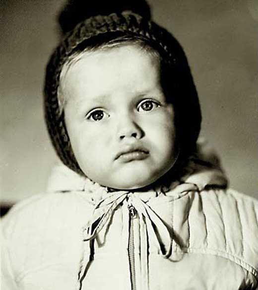 Павел Буре в детстве